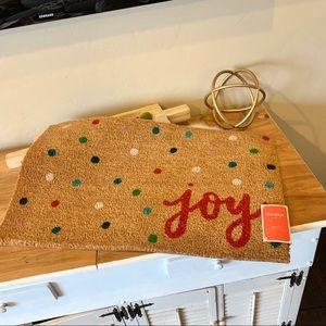 NWT- Opal House Joy doormat